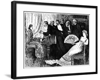 Two Thrones, 1879-George Du Maurier-Framed Giclee Print