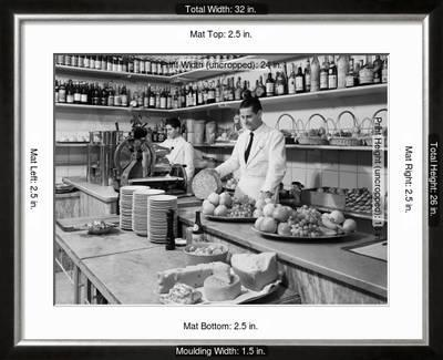 Two Waiters Behind The Counters Of The Ristorante Diana In Via Indipendenza Bologna Photographic Print A Villani Art Com Maîtriser diana permet au joueur de dominer la partie notamment. art com