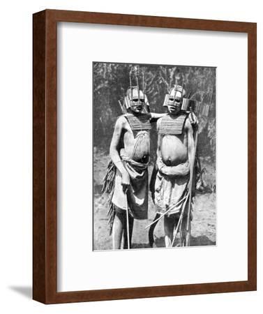 Two Witch-Doctors, Tanganyika (Tanzani), Africa, 1936