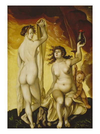 Two Witches, 1523-Hans Baldung Grien-Giclee Print