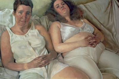 Two Women in White, 2000-Victoria Russell-Giclee Print