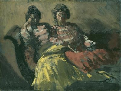 Two Women on a Sofa - Le Tose-Walter Richard Sickert-Giclee Print