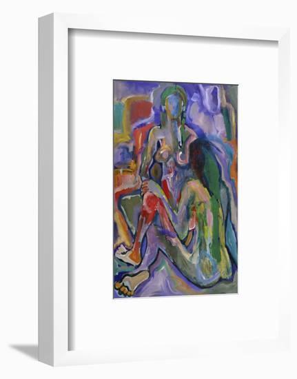 Two Women-Diana Ong-Framed Premium Giclee Print