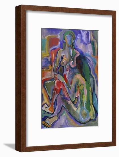 Two Women-Diana Ong-Framed Giclee Print