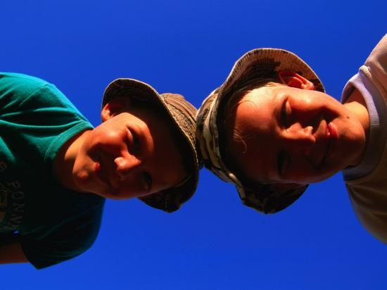 Two Young Boys from Skane, Skane, Sweden-Anders Blomqvist-Photographic Print