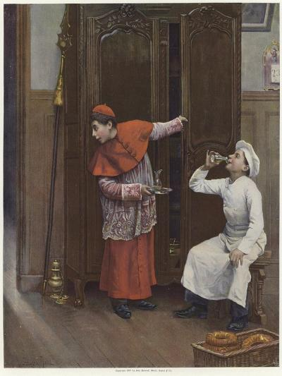 Two Young Boys Wearing Costumes-Paul Charles Chocarne-moreau-Giclee Print
