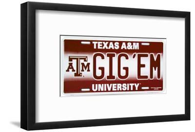 Texas A /& M Metal Sign Gig/'em