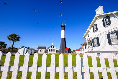 Tybee Island Light House of Tybee Island, Georgia, Usa.-SeanPavonePhoto-Photographic Print