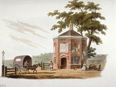 Tyburn Turnpike, London, 1812-William Pickett-Giclee Print