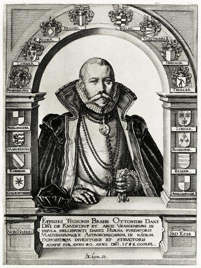 Tycho Brahe, 1884-90--Giclee Print