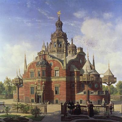 Tycho Brahe's Observatory, Uraniborg-Henrik Hansen-Giclee Print