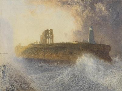 Tynemouth Pier: North-East Wind, 1866 (W/C)-Alfred William Hunt-Giclee Print