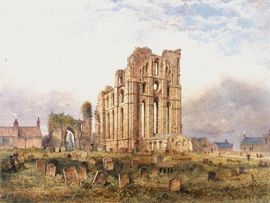 Tynemouth Priory, East End, 1878-John Storey-Giclee Print