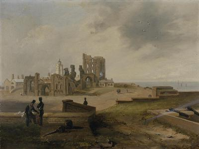 Tynemouth Priory from the East, 1845-John Wilson Carmichael-Giclee Print
