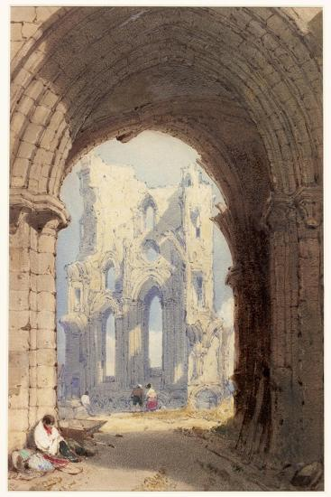 Tynemouth Priory-William Roxby Beverley-Giclee Print