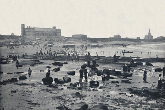 'Tynemouth - The Aquarium and Sands', 1895-Unknown-Photographic Print