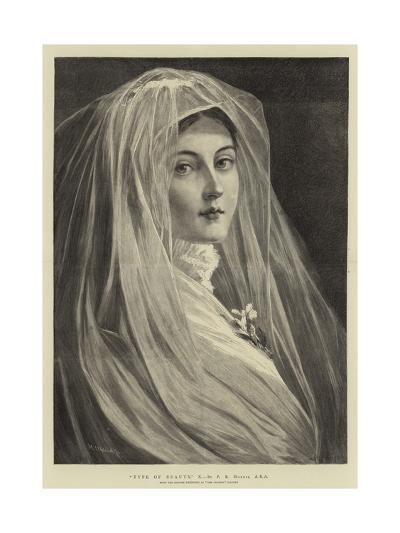Type of Beauty, X-Philip Richard Morris-Giclee Print