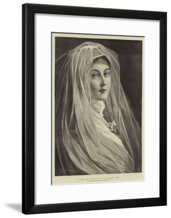 Type of Beauty, X-Philip Richard Morris-Framed Giclee Print