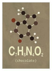 Molecule Chocolate by TypeLike
