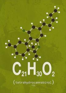 Molecule THC by TypeLike