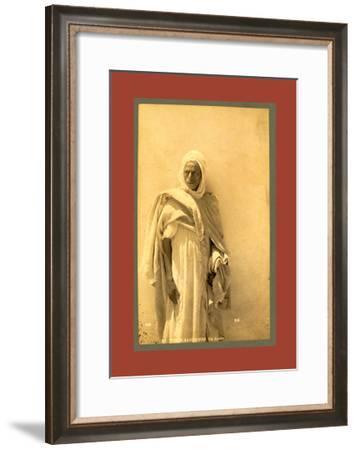 Types Algerians: an Arab-Etienne & Louis Antonin Neurdein-Framed Giclee Print