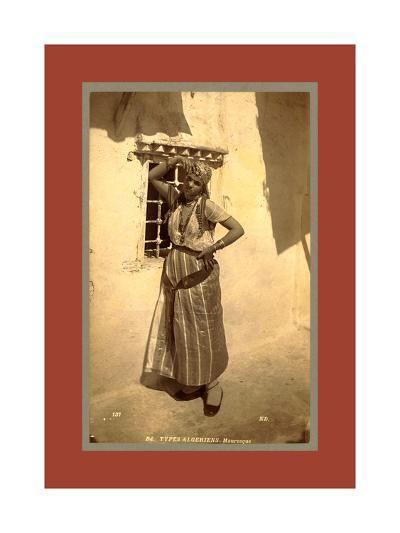 Types Algerians, Moorish-Etienne & Louis Antonin Neurdein-Giclee Print