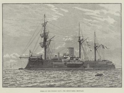 Types of the French Navy, the Redoutable, Ironclad--Giclee Print