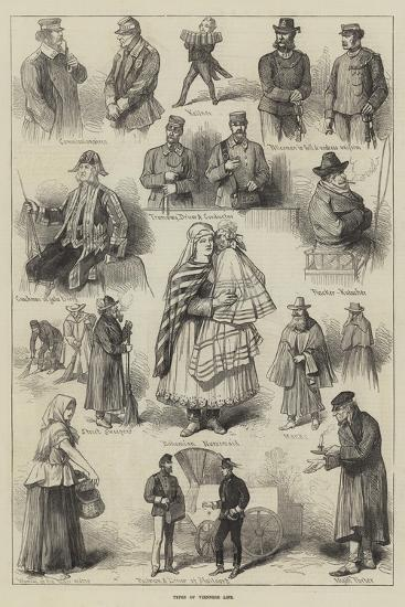 Types of Viennese Life--Giclee Print