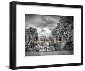 Typical Amsterdam-Melanie Viola-Framed Art Print