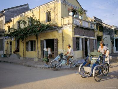 Typical Houses, Hoi An, Vietnam, Southeast Asia-Tim Hall-Photographic Print