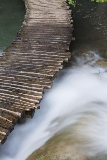 Typical Plank Path, Plitvice Lakes, Plitvicka Jezera, Croatia-Martin Zwick-Photographic Print