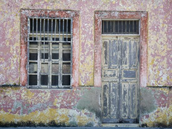 Typical Street Scene in Progreso, Yucatan, Mexico-Julie Eggers-Photographic Print