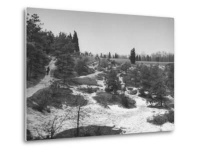 Typical Terrain on Pine Valley Golf Course, Where Masters Golf Tournament Is Being Held