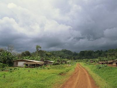 Typical Village in Western Cameroon, Africa-Julia Bayne-Photographic Print