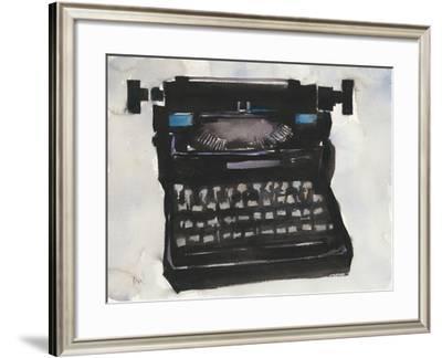 Typing II-Samuel Dixon-Framed Art Print
