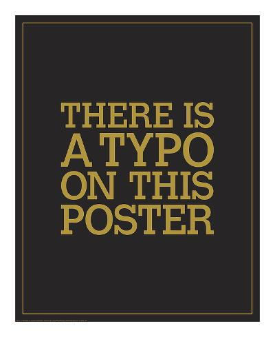 Typo-JJ Brando-Art Print