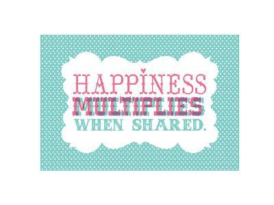 Typography_Happiness-Jilly Jack Designs-Art Print