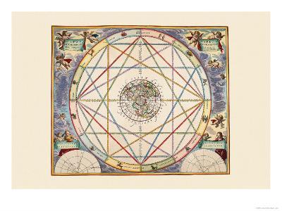 Typus Aspectuum-Andreas Cellarius-Art Print