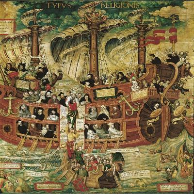 Typus Religionis, Allegory of the Society of Jesus--Giclee Print