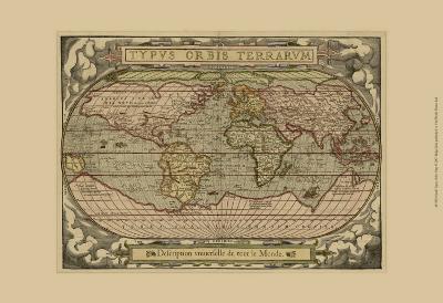 Typvs Map--Art Print