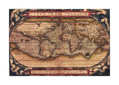 TYPVS ORBIS TERRARVM-Bill Cannon-Giclee Print
