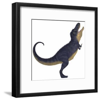Tyranosaurus Rex, a Large Carnivore of the Cretaceous Period
