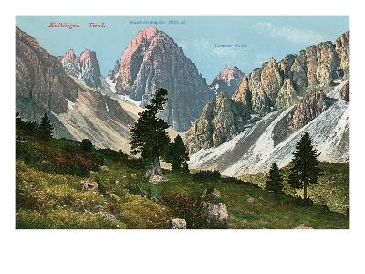 Tyrolean Alps--Art Print