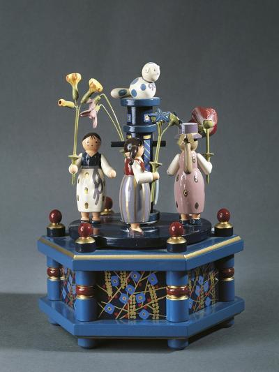 Tyrolean Carousel with Music Box--Giclee Print