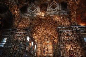 Interior of Sao Francisco of Assis Church by Tyrone Turner