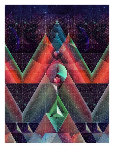 tyssyllyxxn ylltymyt-Spires-Art Print