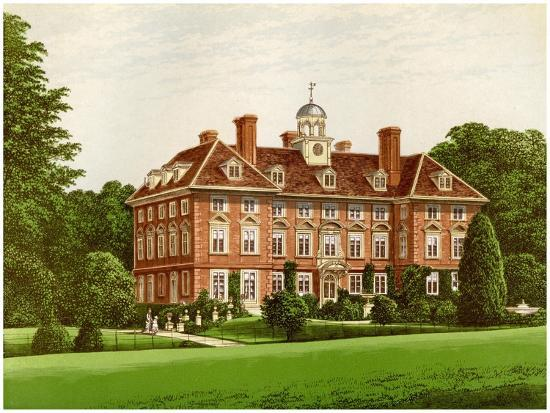 Tyttenhanger Park, Hertfordshire, Home of the Countess of Caledon, C1880-AF Lydon-Giclee Print