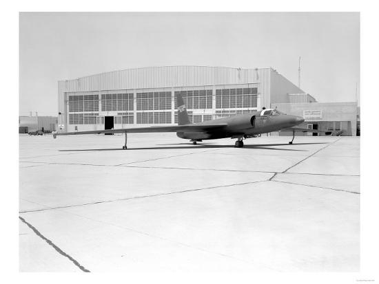 U-2 Spy Plane With Fictitious NASA Markings Photograph - Edwards AFB, CA-Lantern Press-Art Print