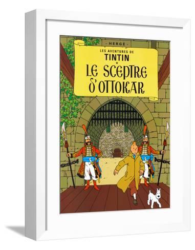 Le Sceptre d'Ottokar, c.1939-Herg? (Georges R?mi)-Framed Art Print