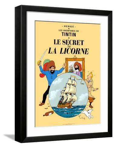 Le Secret de la Licorne, c.1943-Herg? (Georges R?mi)-Framed Art Print